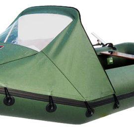 Носовой тент для лодки Хантер 280 (все варианты)